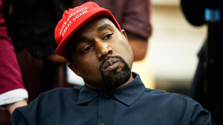 A Timeline of Kanye West Getting Political