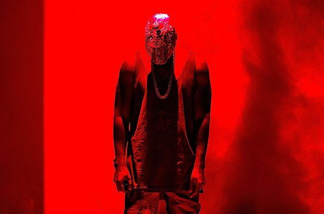 Kanye West, 2014.