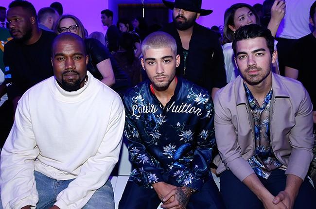 Kanye West, Zayn Malik and Joe Jonas