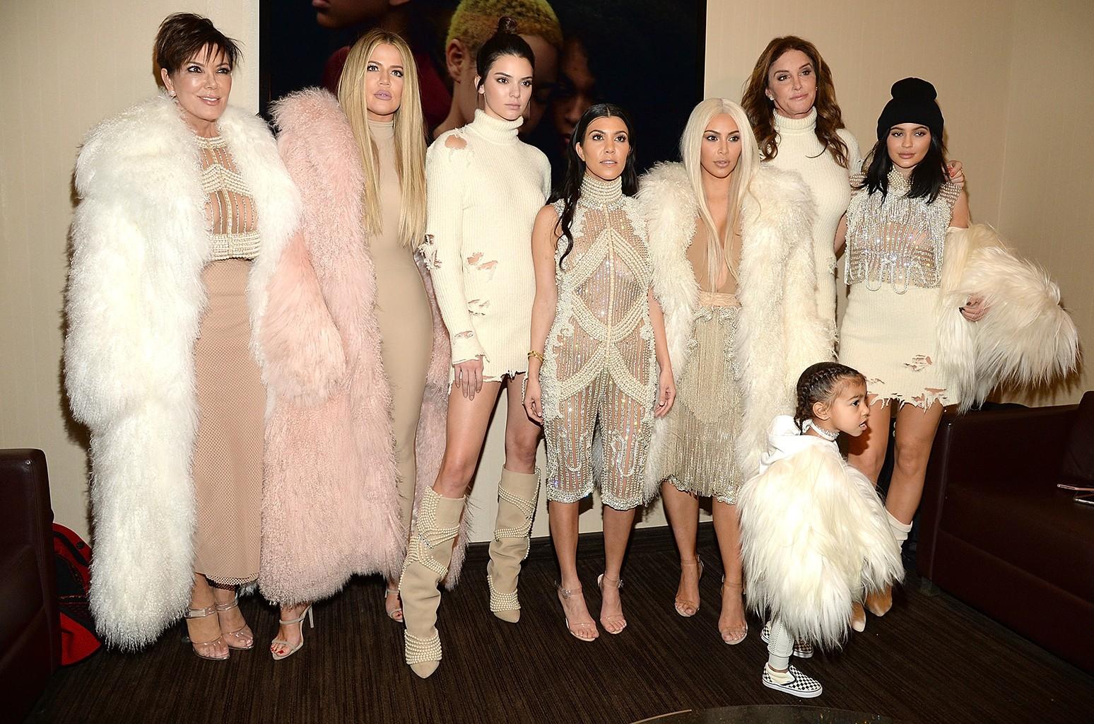 The Kardashians in 2016