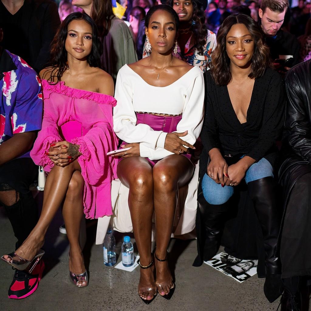 Karrueche Tran, Kelly Rowland and Tiffany Haddish