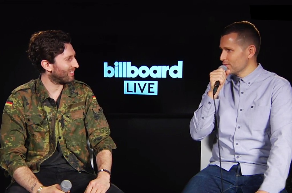 Kaskade chats with Billboard Dance Founder, Matt Medved for Billboard Live on May 16, 2017 in New York City.
