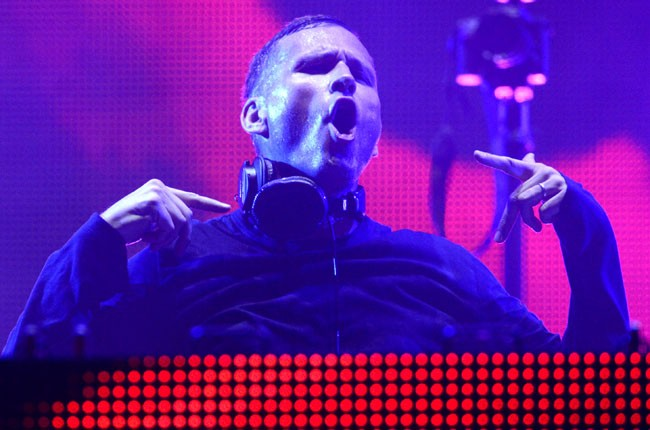 Kaskade performs during the Ultra Music Festival