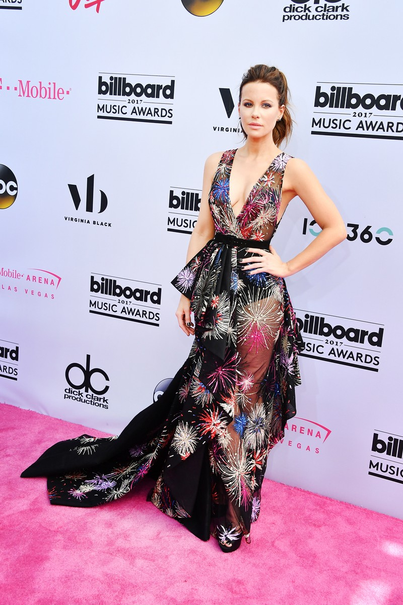 Kate Beckinsale attends the 2017 Billboard Music Awards at T-Mobile Arena on May 21, 2017 in Las Vegas.