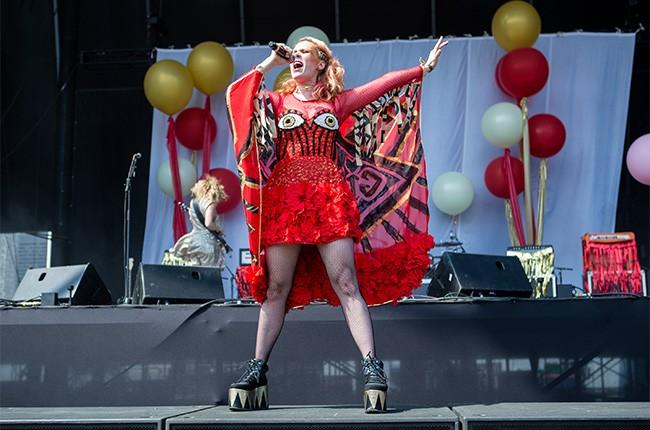 Kate Nash at Lollapalooza 2014