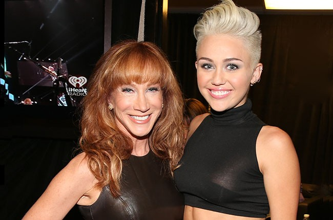 Kathy Griffin and Miley Cyrus