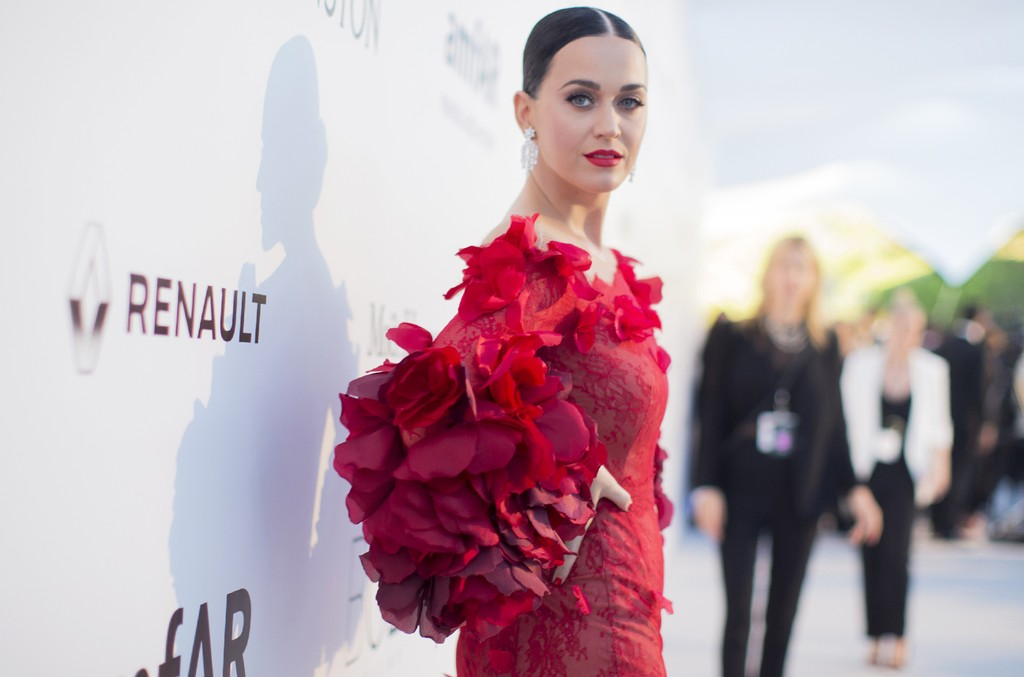 Katy Perry attends the amfAR's 23rd Cinema Against AIDS Gala