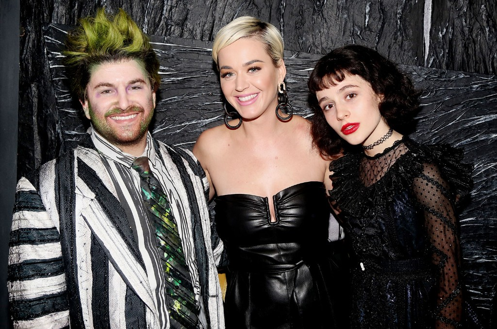 Alex Brightman, Katy Perry and Sophia Anne Caruso