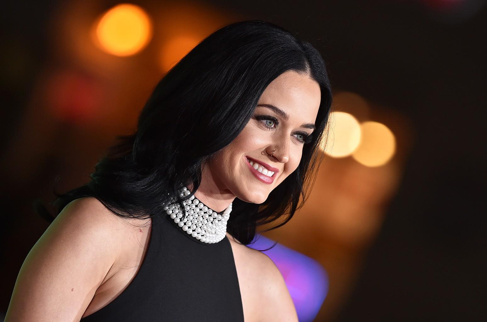 Katy Perry at Regency Village Theatre on Dec. 7, 2016 in Westwood, Calif.