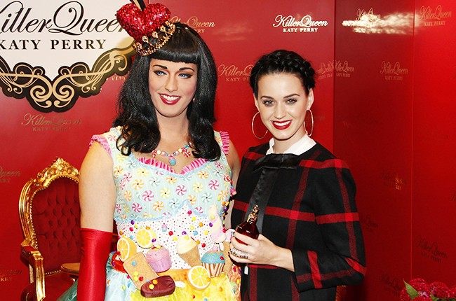 Jessica Spirit as Katy Perry with Katy Perry