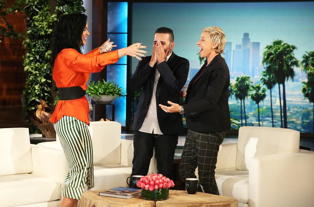 Katy Perry on The Ellen DeGeneres Show