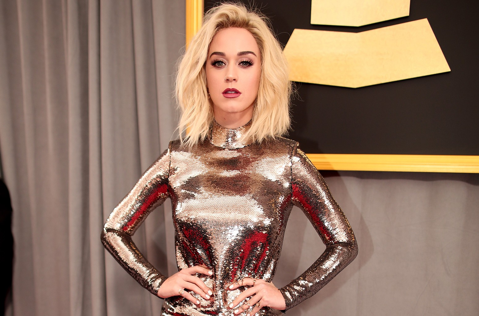 Katy Perry attends The 59th Grammy Awards at Staples Center on Feb. 12, 2017 in Los Angeles.