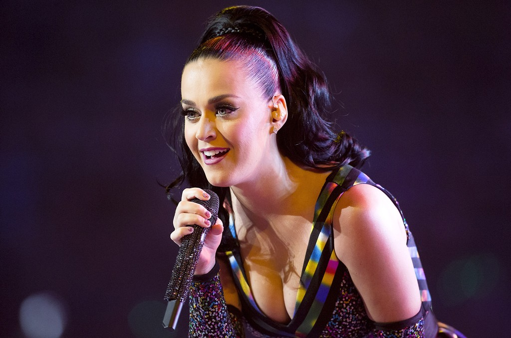 Katy Perry performs in 2016