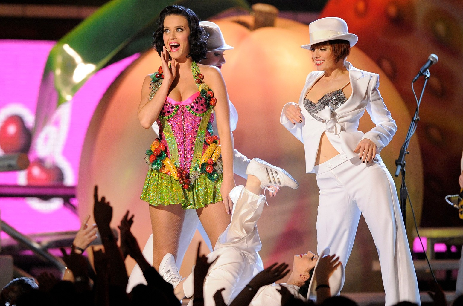 Katy Perry performs at the 51st Annual Grammy Awards on Feb. 8, 2009 in Los Angeles.
