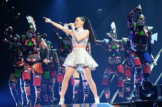 "Katy Perry performs ""The Prismatic World Tour"""
