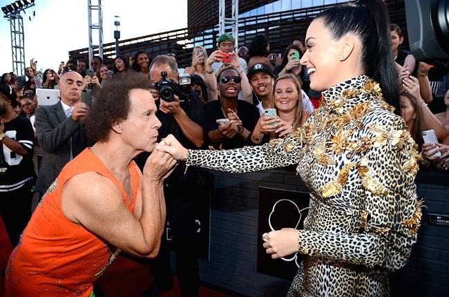 Katy Perry & Richard Simmons