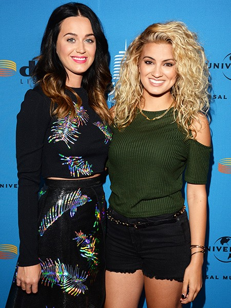 Katy Perry and Tori Kelly