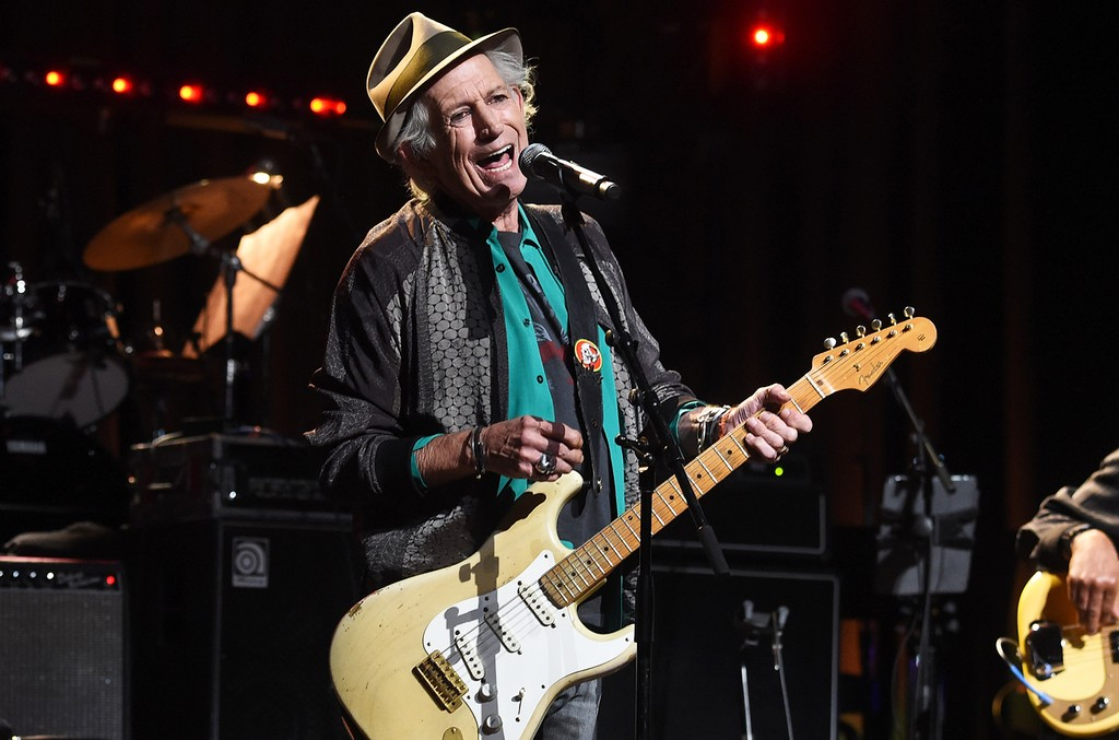 Keith Richards Love Rocks