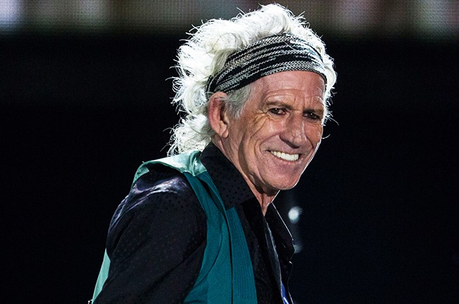 Keith Richards of the Rolling Stones 2015