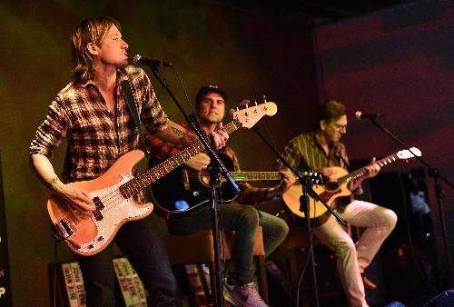 "Keith Urban performs at the #1 single party for ""John Cougar, John Deer, John 3:16"""