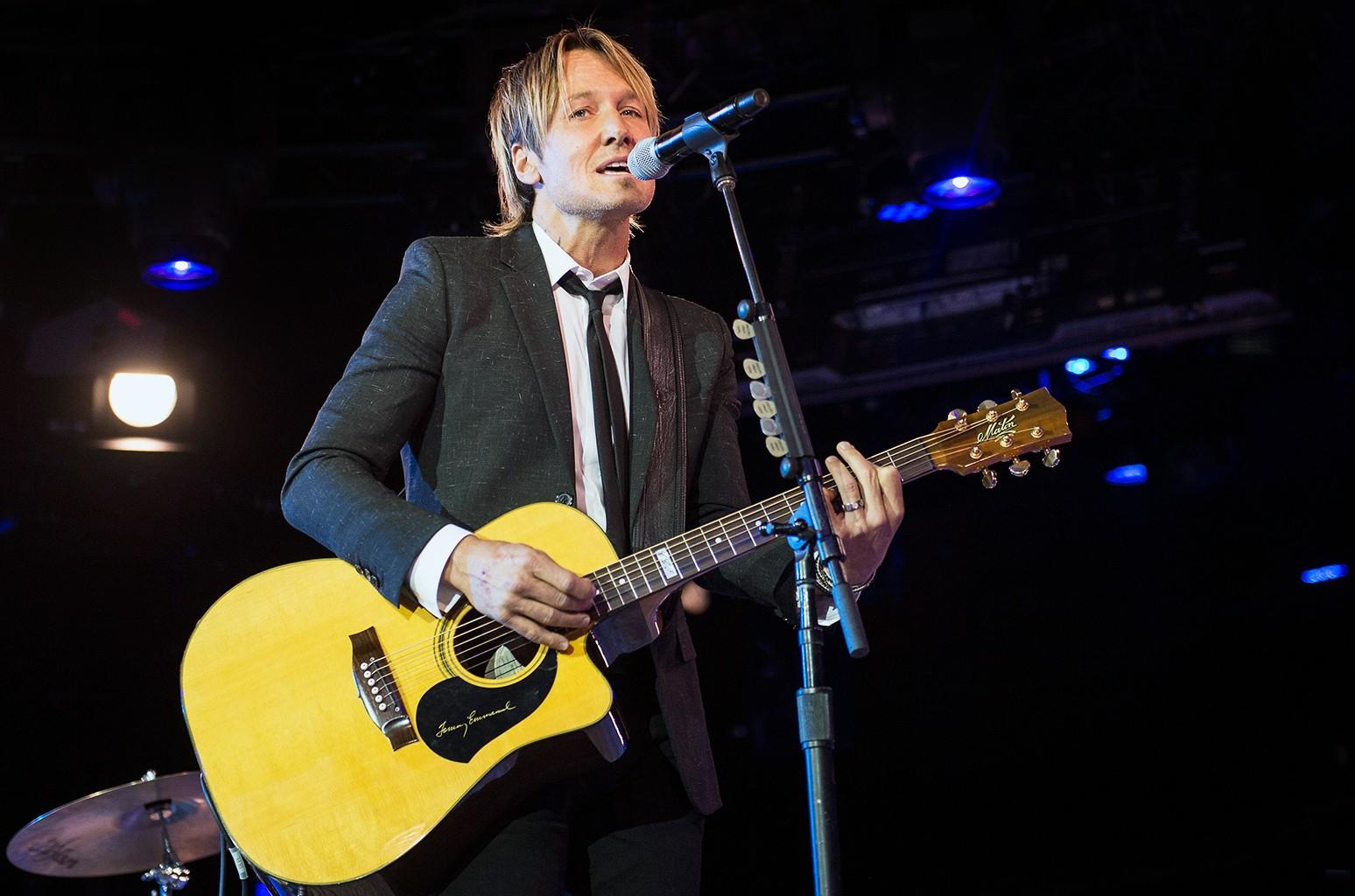 Keith Urban performs in Nashville, Tenn.