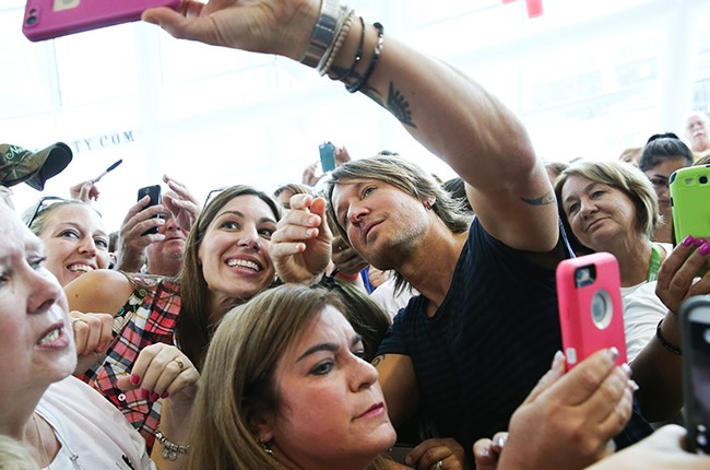 Keith Urban Performs Live on SiriusXM's The Highway Channel at the SiriusXM Studios in Nashville 2015