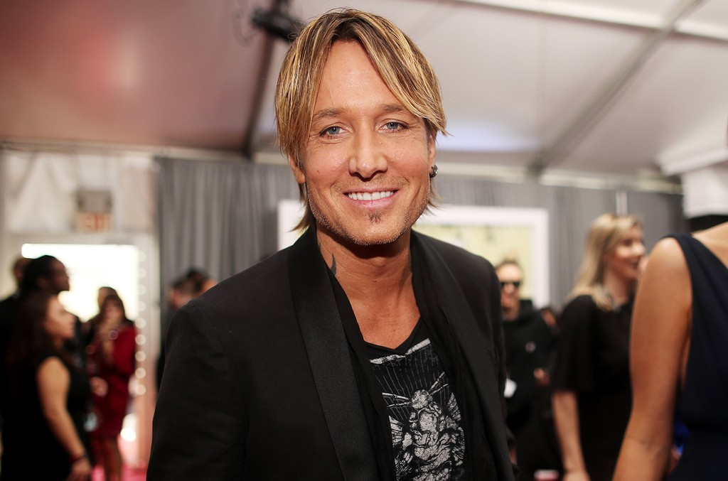 Keith Urban attends The 59th Grammy Awards at Staples Center on Feb. 12, 2017 in Los Angeles.
