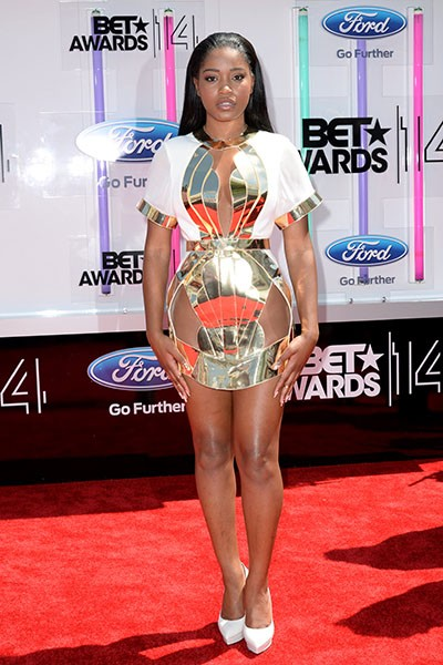 Keke Palmer at the BET Awards 2014
