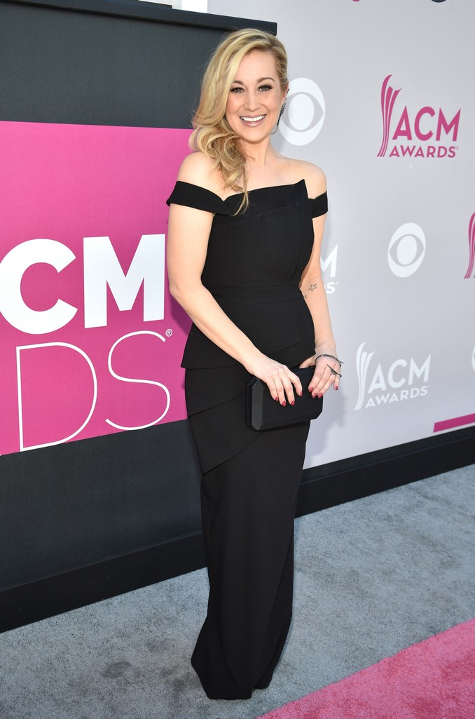 Kellie Pickler attends the 52nd Academy Of Country Music Awards at Toshiba Plaza on April 2, 2017 in Las Vegas.