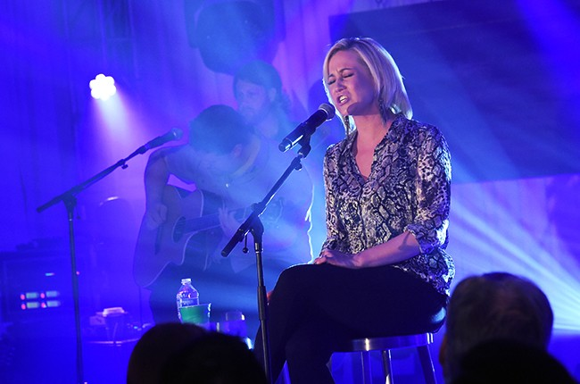 Kellie Pickler performs at Starwood Preferred Guest's Hear The Music, See The World