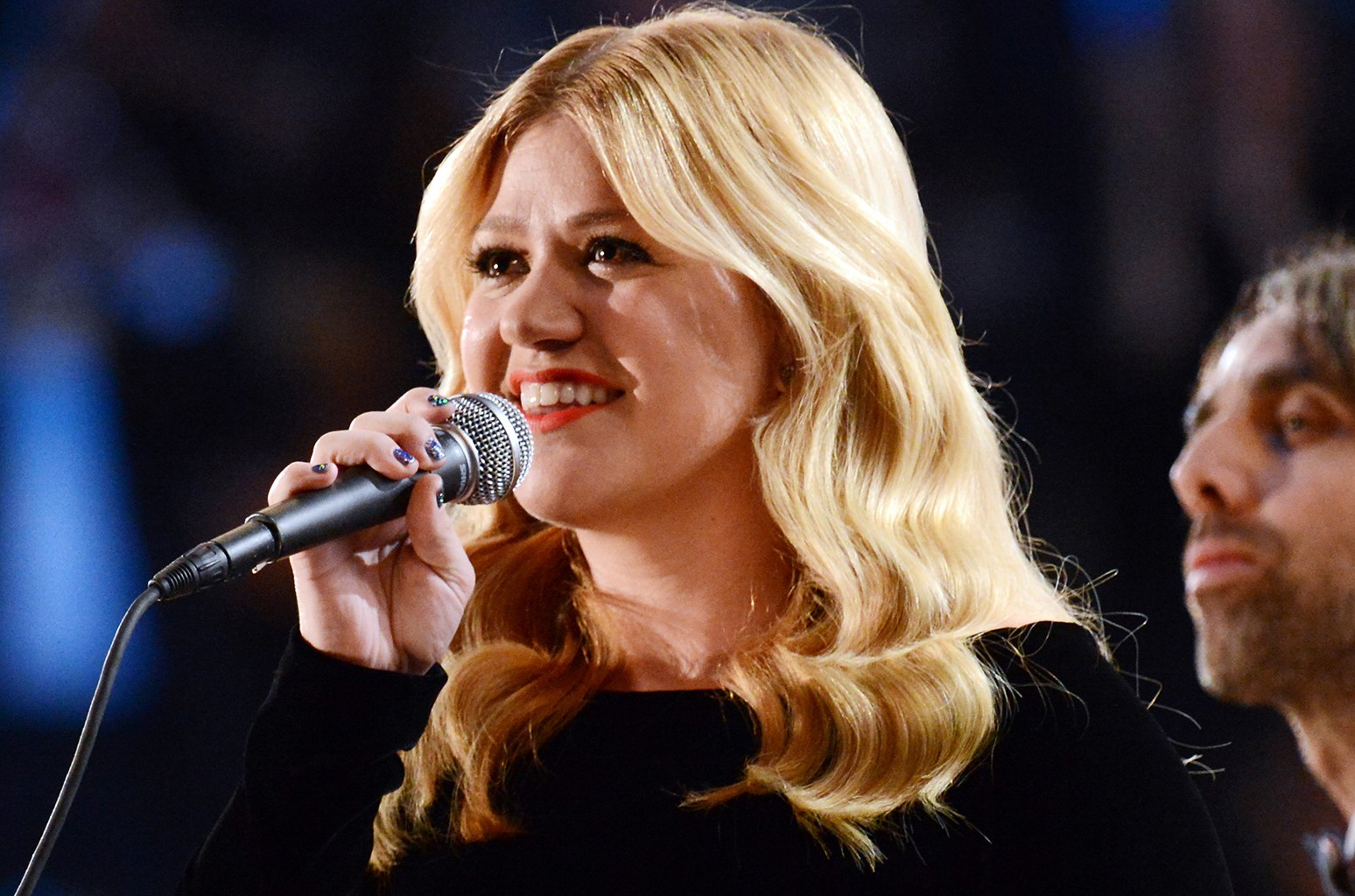 Kelly Clarkson performs at the 55th Annual Grammy Awards