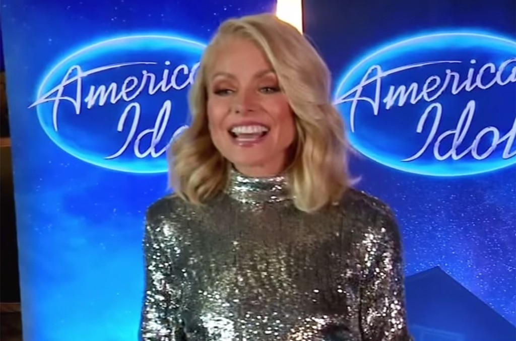 "Kelly Ripa Auditions for ""American Idol"""