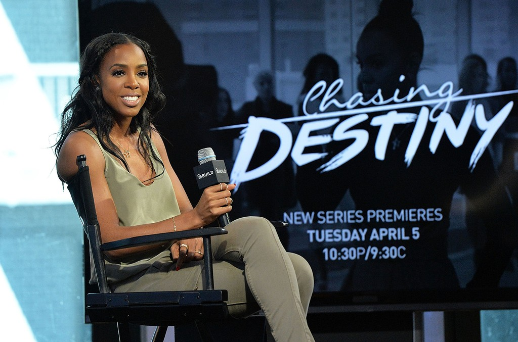 Kelly Rowland discusses  Chasing Destiny