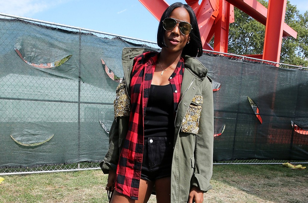 Kelly Rowland attends 2016 Made In America Festival