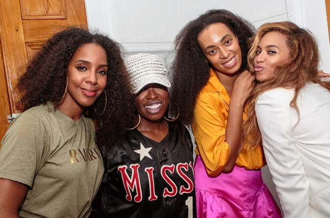 Kelly Rowland, Missy Elliot, Solange Knowles and Beyonce Knowles