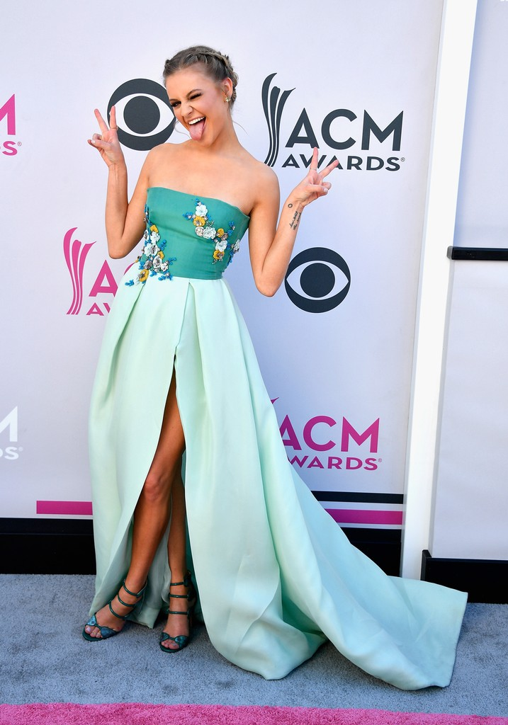 Kelsea Ballerini attends the 52nd Academy Of Country Music Awards at Toshiba Plaza on April 2, 2017 in Las Vegas.