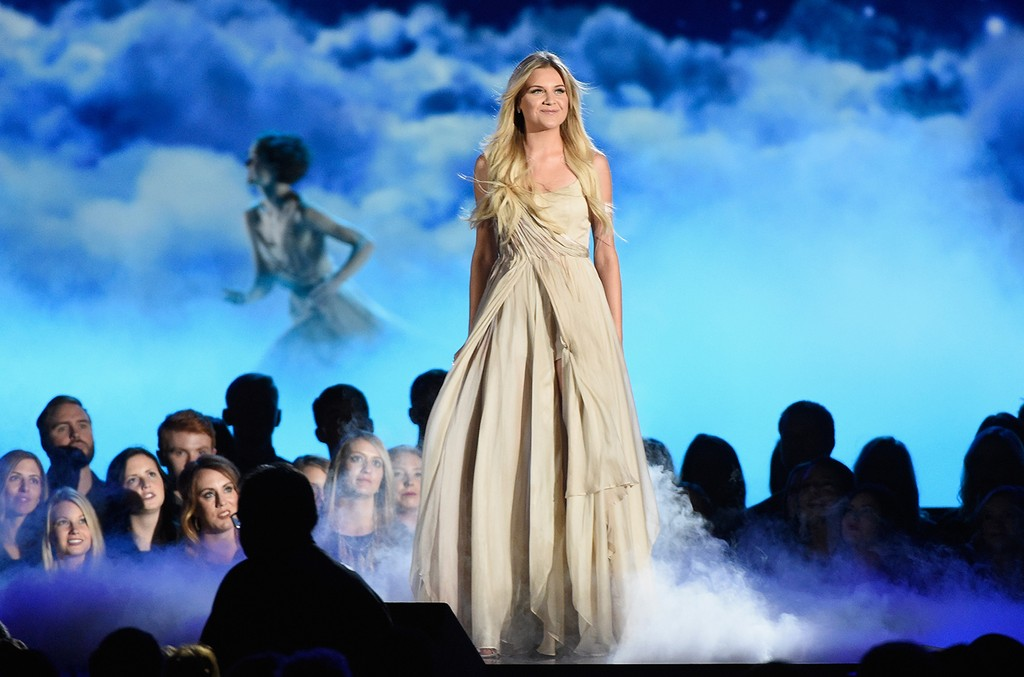 Kelsea Ballerini performs onstage at the 50th annual CMA Awards