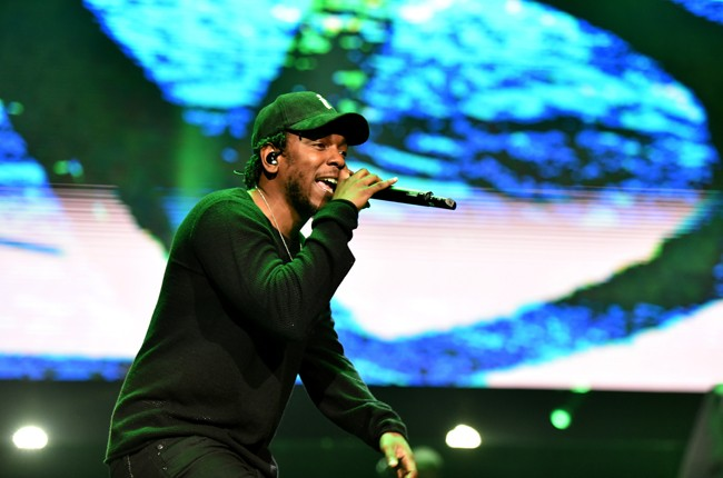 Kendrick Lamar performs onstage during the BET Experience concert at Staples Center on June 27, 2015 in Los Angeles, California.