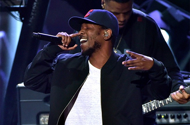 Kendrick Lamar performs iHeartRadio Music Awards