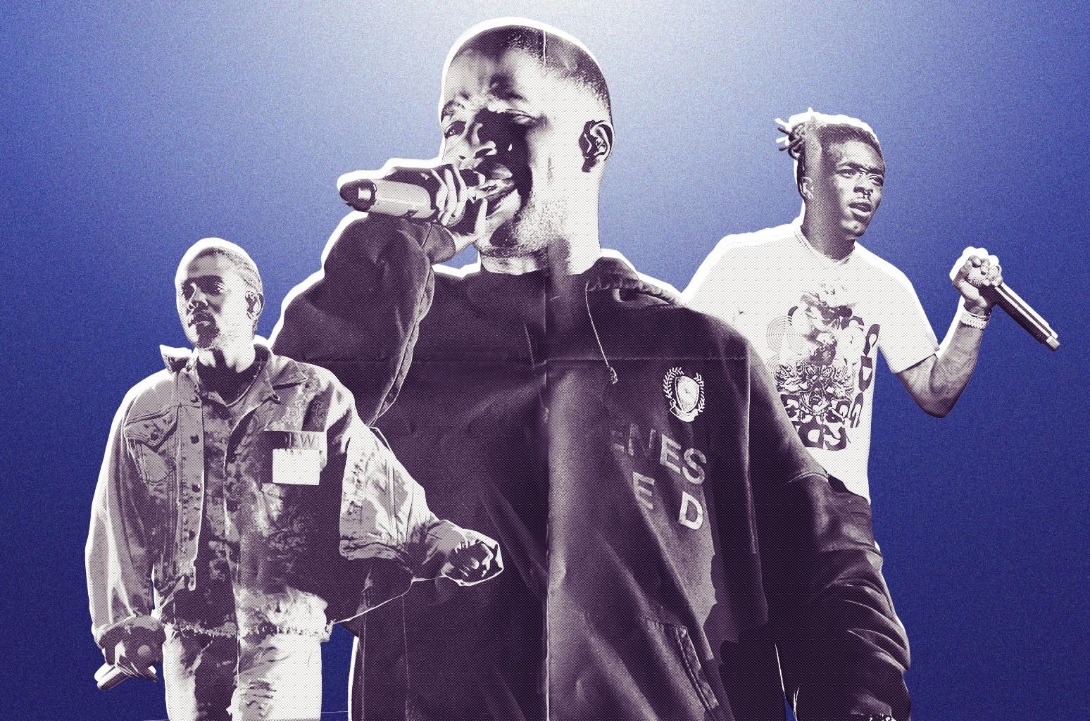Kendrick Lamar, Kid Cudi & Lil Uzi Vert