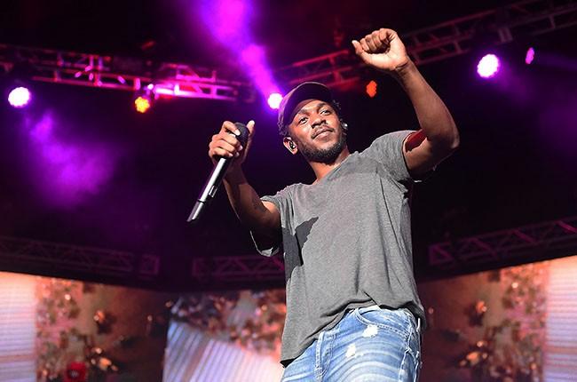 Kendrick Lamar, 2014.