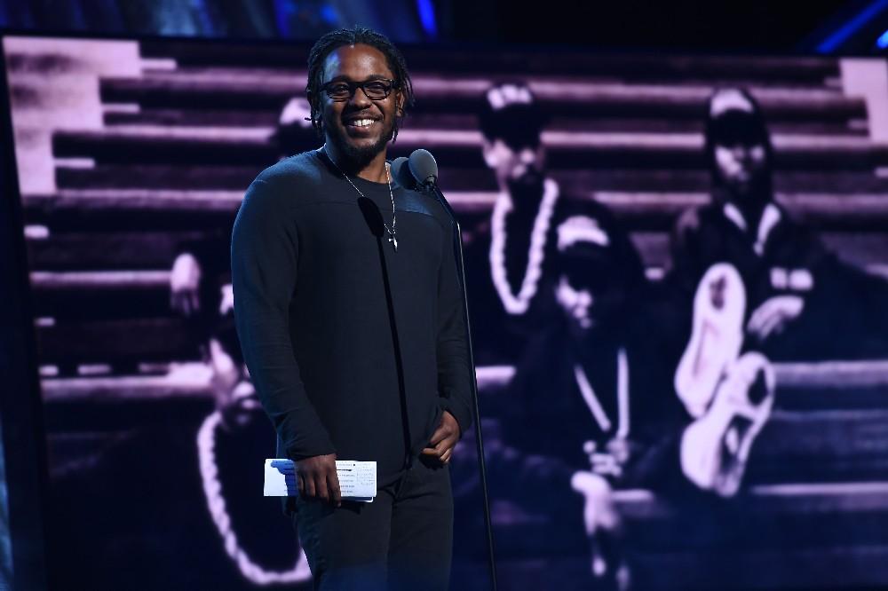 Kendrick Lamar at the Rock Hall Induction