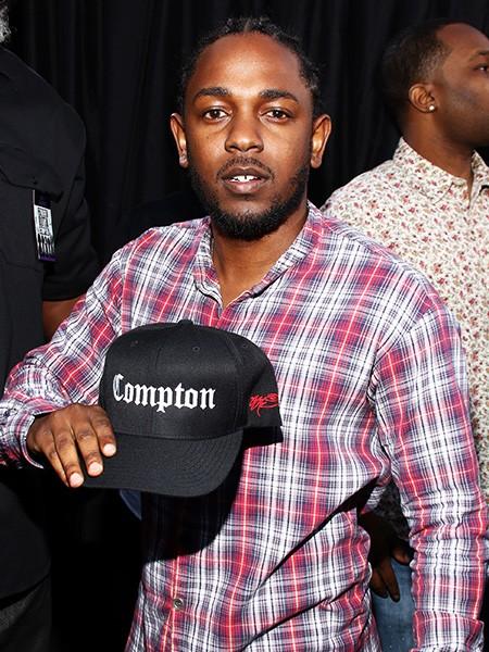 Kendrick Lamar straight outta compton premiere 2015