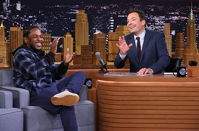 "Kendrick Lamar on ""The Tonight Show Starring Jimmy Fallon"""