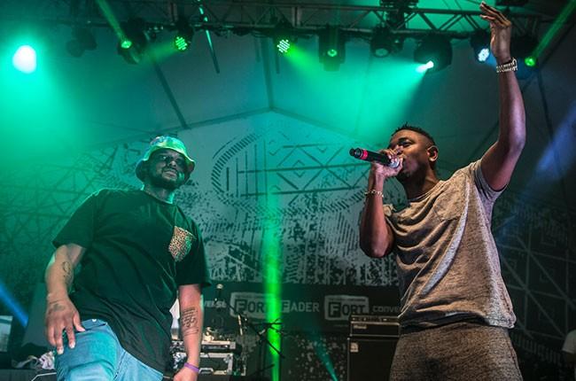 Kendrick Lamar and ScHoolboy Q