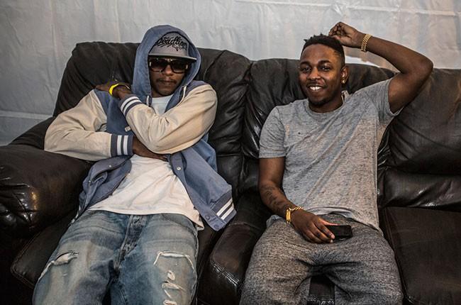 Ab-Soul and Kendrick Lamar