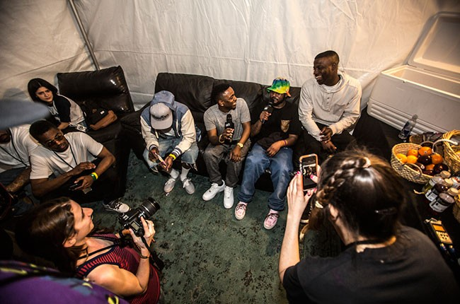 Ab-Soul, Kendrick Lamar, ScHoolboy Q, and Jay Rock
