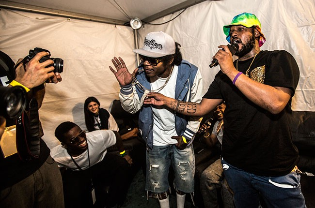 Dave Free, ScHoolboy Q, and Ab-Soul