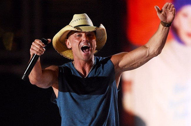 Kenny Chesney performs onstage during the 50th Academy Of Country Music Awards