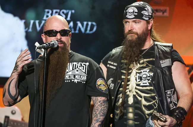 Kerry King and Zakk Wylde